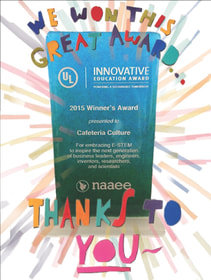 UL Innovative Education Award 2015 - Cafeteria Culture
